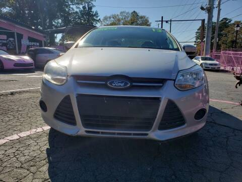 2013 Ford Focus for sale at Fast and Friendly Auto Sales LLC in Decatur GA