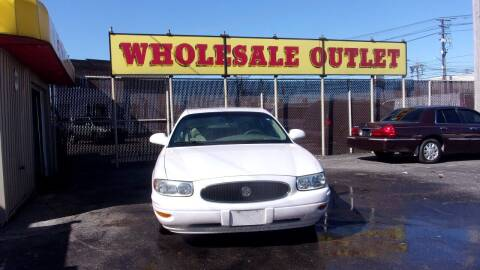 2004 Buick LeSabre for sale at LONG BROTHERS CAR COMPANY in Cleveland OH