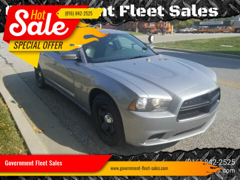 2014 Dodge Charger for sale at Government Fleet Sales in Kansas City MO