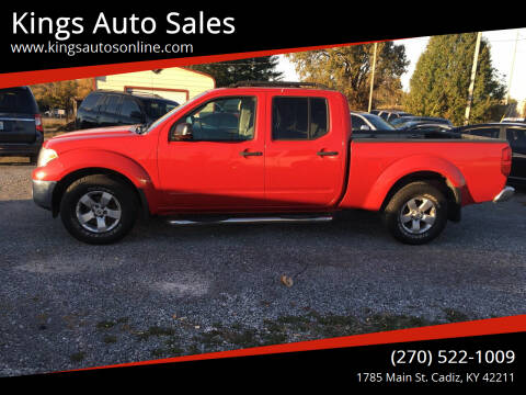 2009 Nissan Frontier for sale at Kings Auto Sales in Cadiz KY