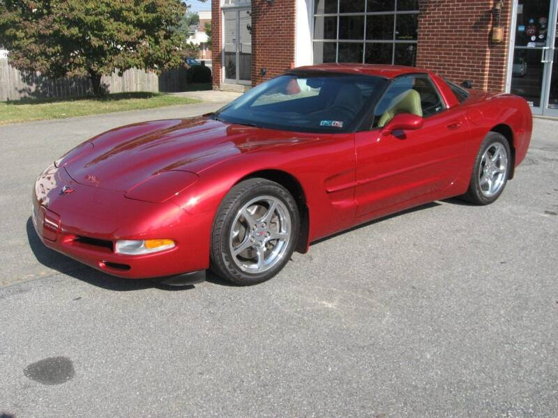 2001 Chevrolet Corvette for sale at Jacksons Auto Sales in Landisville PA