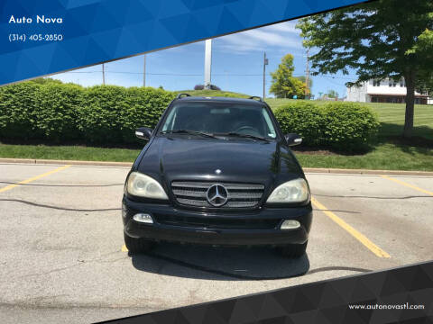 2003 Mercedes-Benz M-Class for sale at Auto Nova in St Louis MO