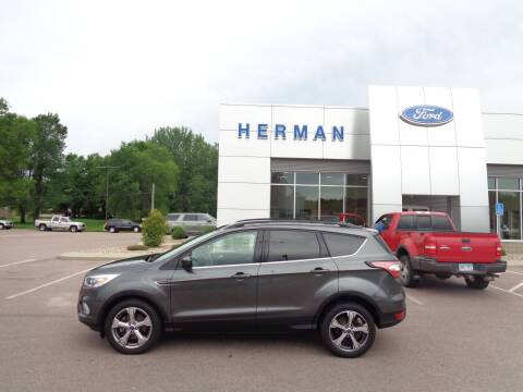 2017 Ford Escape for sale at Herman Motors in Luverne MN