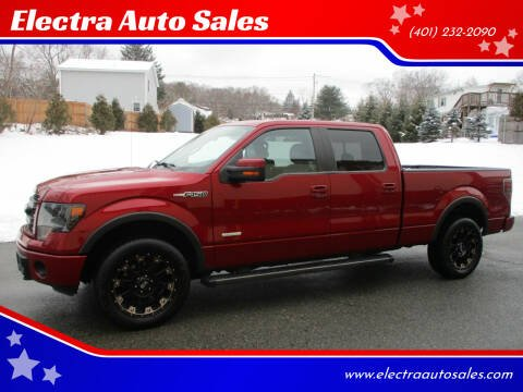 2014 Ford F-150 for sale at Electra Auto Sales in Johnston RI