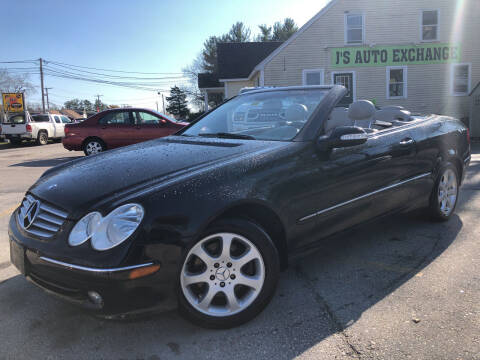 2004 Mercedes-Benz CLK for sale at J's Auto Exchange in Derry NH