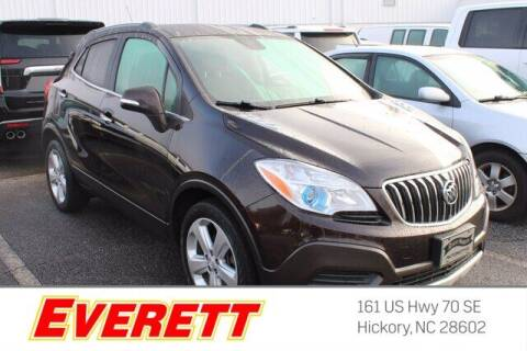 2016 Buick Encore for sale at Everett Chevrolet Buick GMC in Hickory NC
