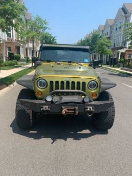 2007 Jeep Wrangler Unlimited for sale at Pak1 Trading LLC in South Hackensack NJ