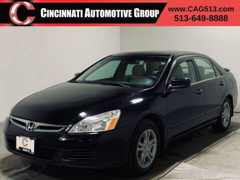 2006 Honda Accord for sale at Cincinnati Automotive Group in Lebanon OH