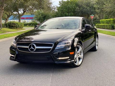 2012 Mercedes-Benz CLS for sale at Presidents Cars LLC in Orlando FL