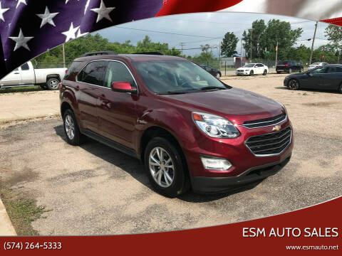 2016 Chevrolet Equinox for sale at ESM Auto Sales in Elkhart IN