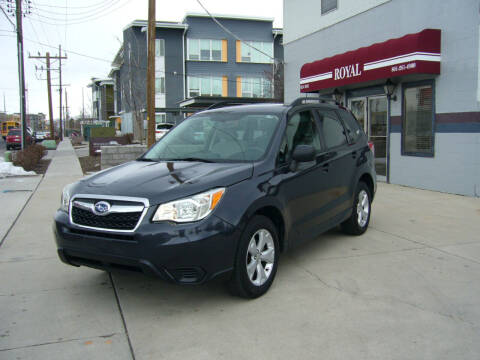 2015 Subaru Forester for sale at Royal Auto Inc in Murray UT