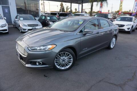 2013 Ford Fusion Hybrid for sale at Industry Motors in Sacramento CA