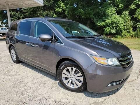 2015 Honda Odyssey for sale at McAdenville Motors in Gastonia NC