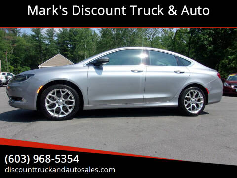 2015 Chrysler 200 for sale at Mark's Discount Truck & Auto in Londonderry NH