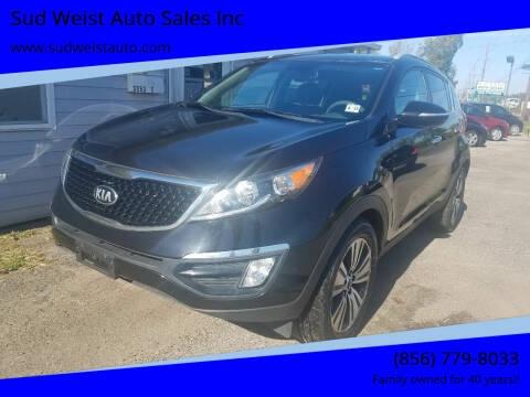 2014 Kia Sportage for sale at Sud Weist Auto Sales Inc in Maple Shade NJ