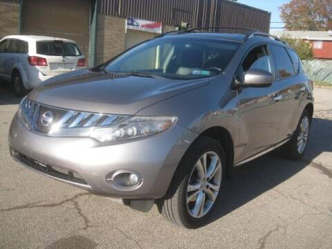 2010 Nissan Murano for sale at ELITE AUTOMOTIVE in Euclid OH