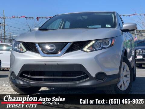 2019 Nissan Rogue Sport for sale at CHAMPION AUTO SALES OF JERSEY CITY in Jersey City NJ
