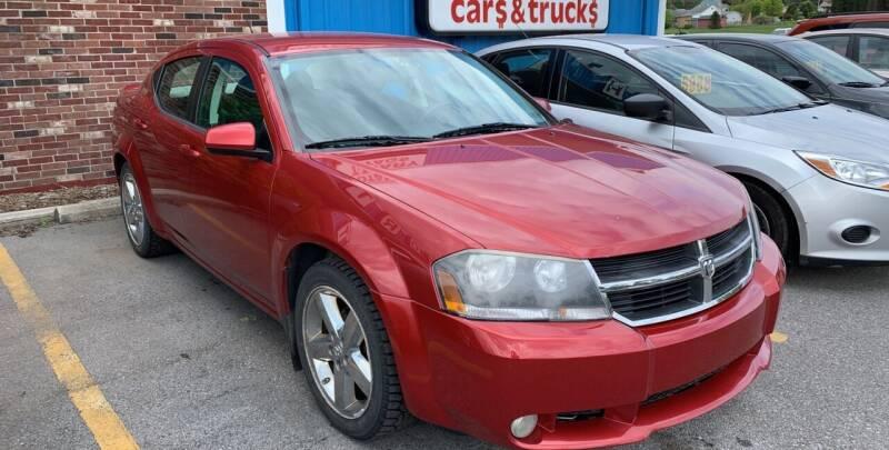 2009 Dodge Avenger for sale at BURNWORTH AUTO INC in Windber PA