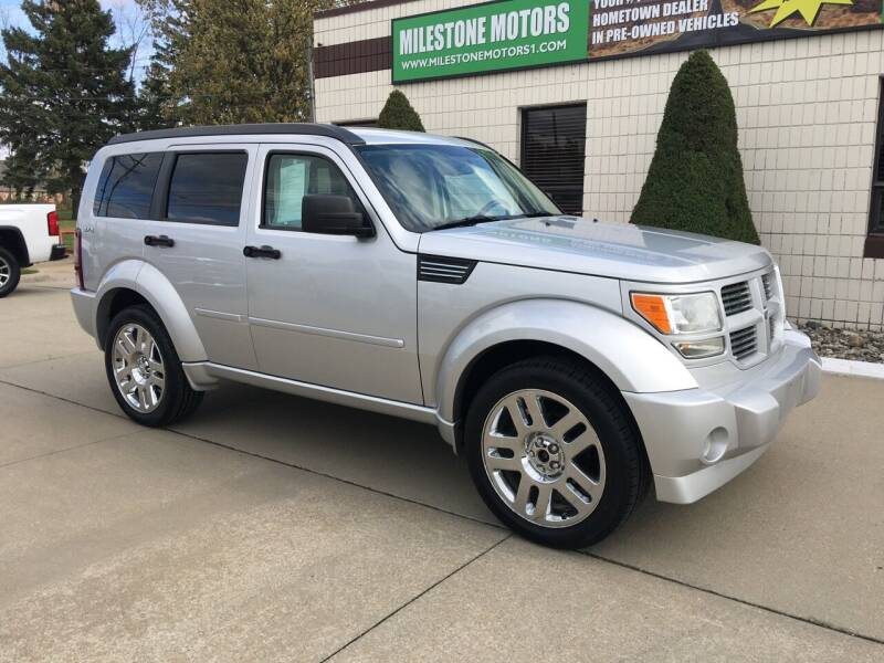 2009 Dodge Nitro for sale at MILESTONE MOTORS in Chesterfield MI