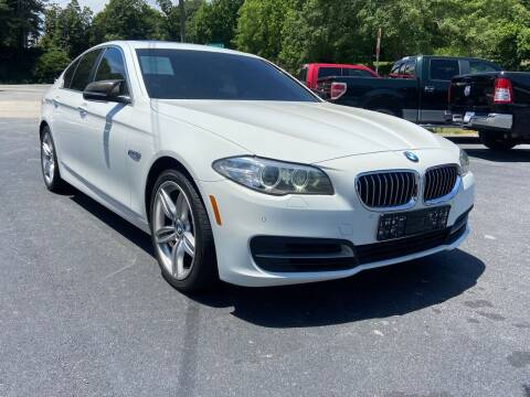 2014 BMW 5 Series for sale at Luxury Auto Innovations in Flowery Branch GA