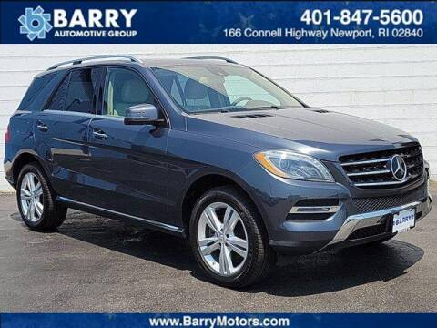 2014 Mercedes-Benz M-Class for sale at BARRYS Auto Group Inc in Newport RI