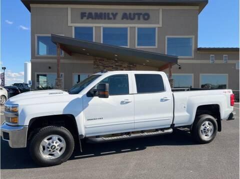2019 Chevrolet Silverado 2500HD for sale at Moses Lake Family Auto Center in Moses Lake WA