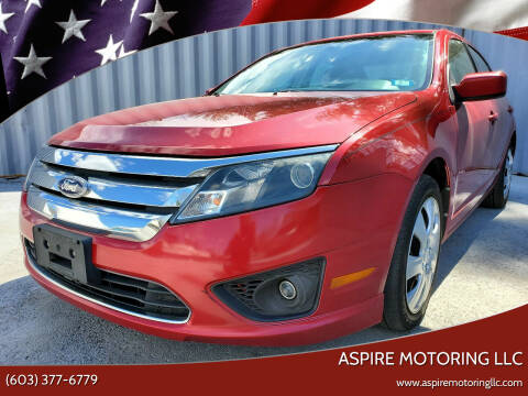 2010 Ford Fusion for sale at Aspire Motoring LLC in Brentwood NH