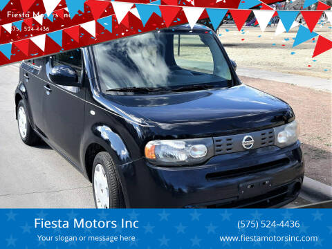 2013 Nissan cube for sale at Fiesta Motors Inc in Las Cruces NM