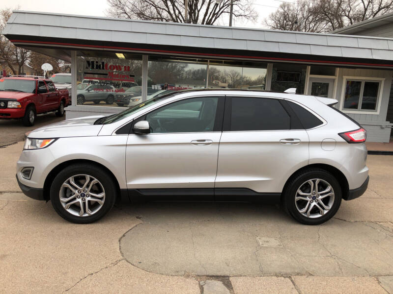2015 Ford Edge for sale at Midtown Motors in North Platte NE