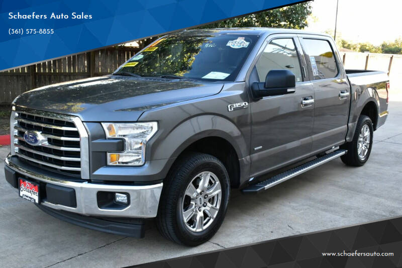 2017 Ford F-150 for sale at Schaefers Auto Sales in Victoria TX