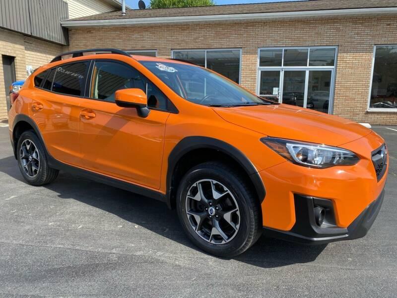2018 Subaru Crosstrek for sale at C Pizzano Auto Sales in Wyoming PA