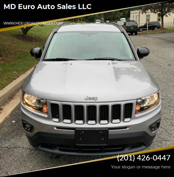 2016 Jeep Compass for sale at MD Euro Auto Sales LLC in Hasbrouck Heights NJ