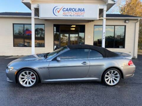 2008 BMW 6 Series for sale at Carolina Auto Credit in Youngsville NC