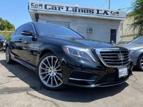 2014 Mercedes-Benz S-Class for sale at Car Lanes LA in Glendale CA
