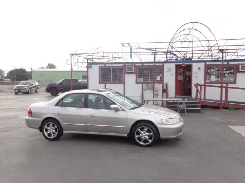1998 Honda Accord for sale at Jim's Cars by Priced-Rite Auto Sales in Missoula MT