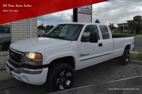 2006 GMC Sierra 2500HD for sale at All Star Auto Sales in Pleasant Grove UT