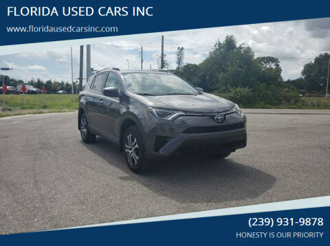2017 Toyota RAV4 for sale at FLORIDA USED CARS INC in Fort Myers FL