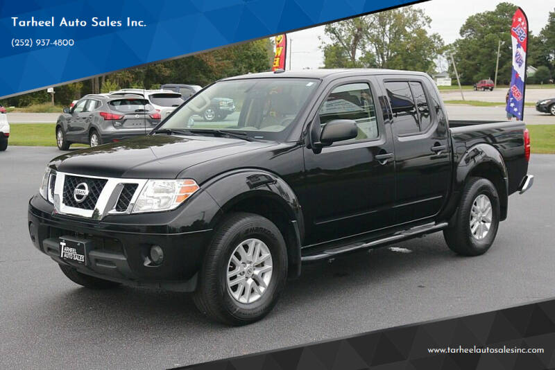 2018 Nissan Frontier for sale at Tarheel Auto Sales Inc. in Rocky Mount NC