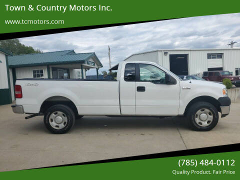 2005 Ford F-150 for sale at Town & Country Motors Inc. in Meriden KS
