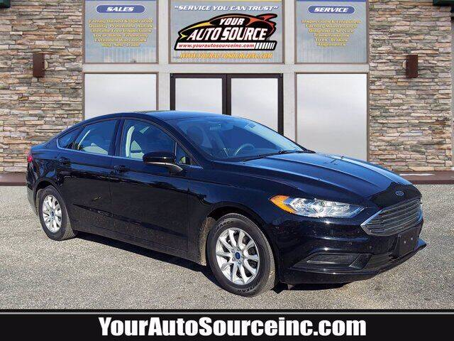 2017 Ford Fusion for sale at Your Auto Source in York PA