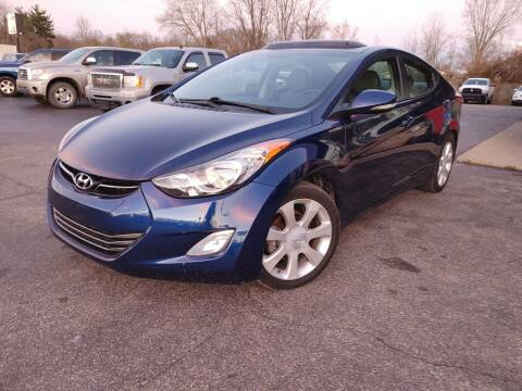 2013 Hyundai Elantra for sale at Cruisin' Auto Sales in Madison IN