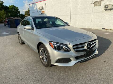 2015 Mercedes-Benz C-Class for sale at Consumer Auto Credit in Tampa FL