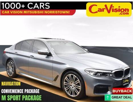2020 BMW 5 Series for sale at Car Vision Buying Center in Norristown PA