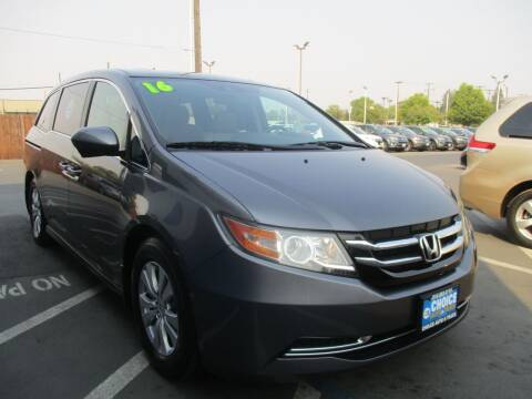 2016 Honda Odyssey for sale at Choice Auto & Truck in Sacramento CA