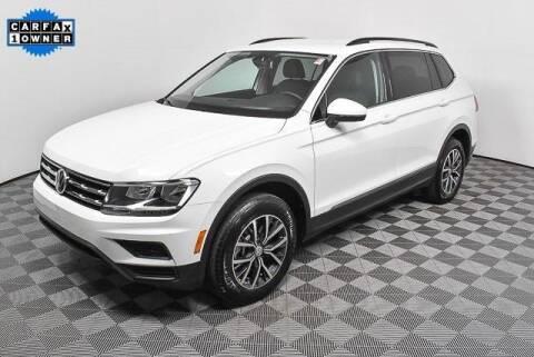 2020 Volkswagen Tiguan for sale at CU Carfinders in Norcross GA