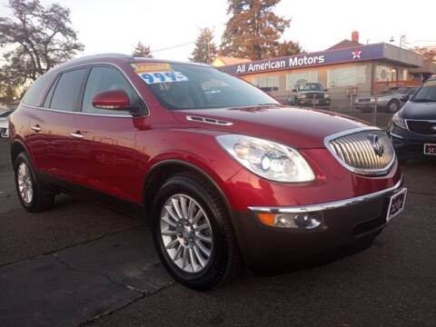 2012 Buick Enclave for sale at All American Motors in Tacoma WA