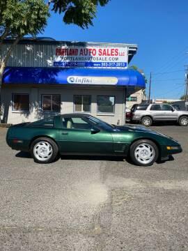 1995 Chevrolet Corvette for sale at PORTLAND AUTO SALES LLC. in Portland OR
