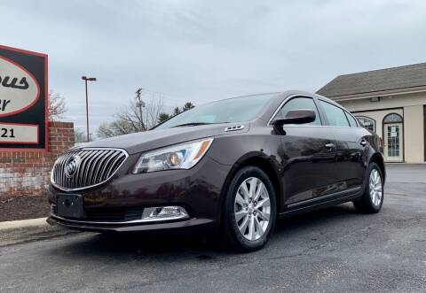 2016 Buick LaCrosse for sale at Columbus Car Trader in Reynoldsburg OH