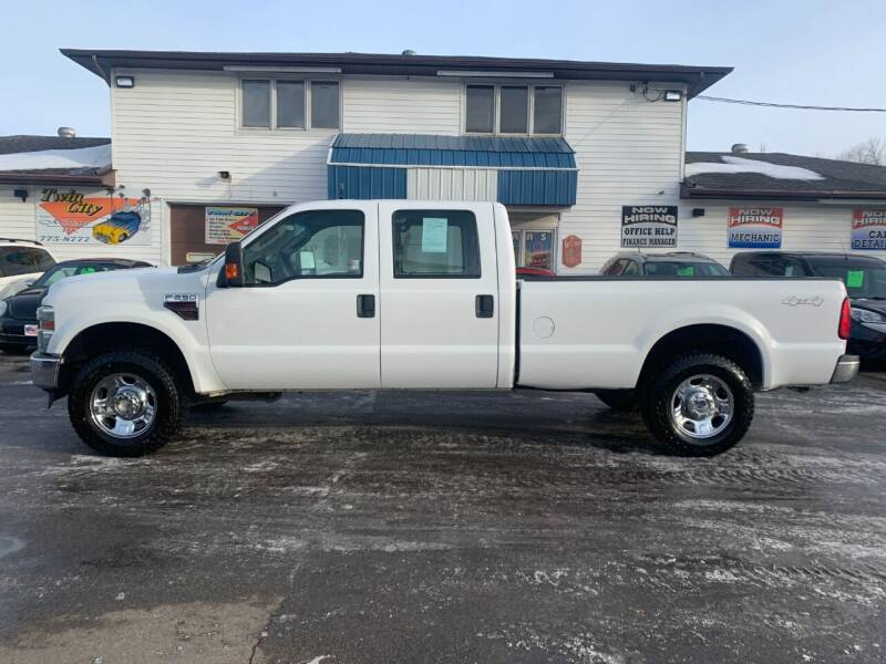 2008 Ford F-250 Super Duty for sale at Twin City Motors in Grand Forks ND