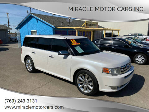 2010 Ford Flex for sale at Miracle Motor Cars Inc. in Victorville CA